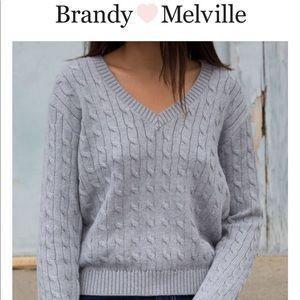 🆕🌸 Brandy Melville Leigh Sweater 🌸 NWT🆕